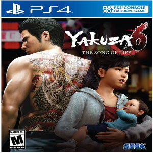 Yakuza 6 The Song of Life for ps4